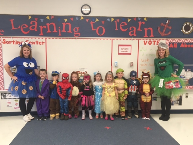 Clever Preschool Students Celebrate Halloween